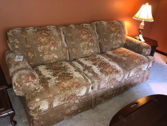 Three-Cushion Hickory Hill Sofa
