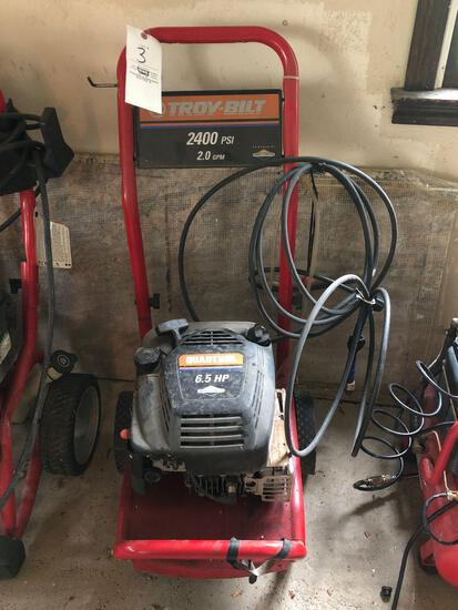 Troy-Bilt 2400 psi Power Washer *No Wand*