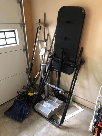 Inversion Table, Lawn Tools, Light