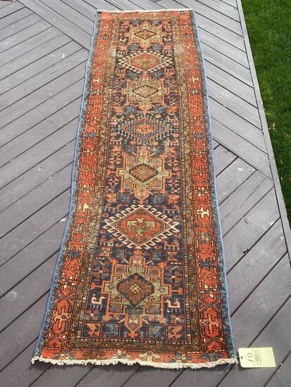 Persian Handmade runner, 9.2 x 3.1