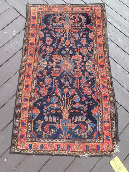 Persian handmade rug, 4.9 x 3.2