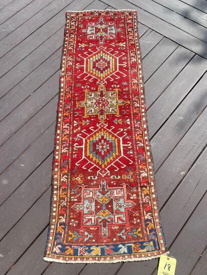 Persian handmade runner, 6 x 2.1
