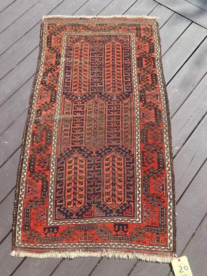 Persian rug, 4.11 x 2.7