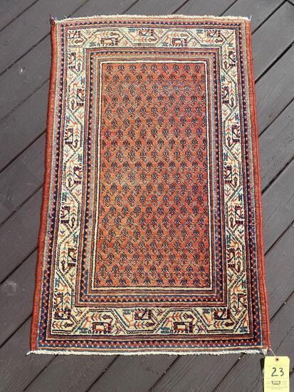 Persian rug, 3.11 x 2.6