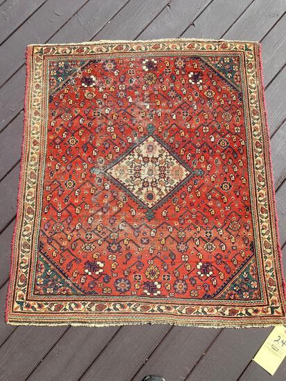 Persian rug, 3.8 x 3.9