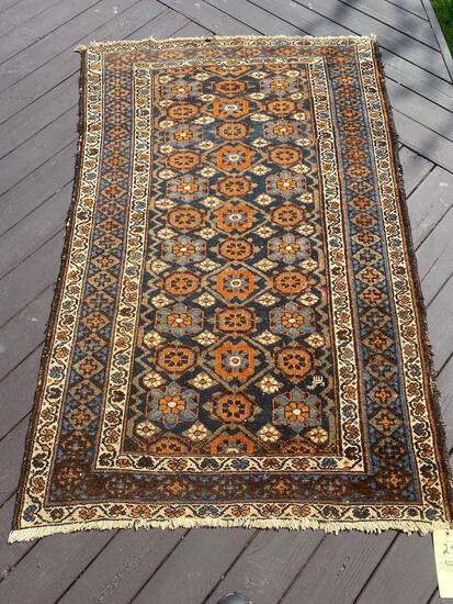 Persian rug, 6.4 x 4