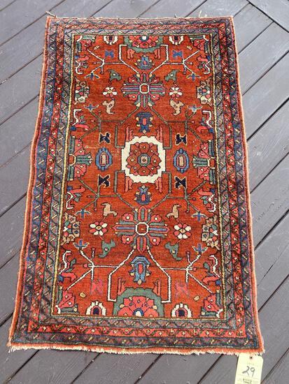 Persian rug, 4.4 x 2.8