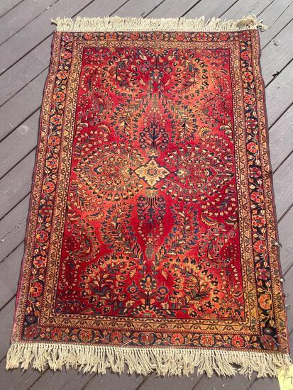 Persian handmade rug, 4.10 x 3.5