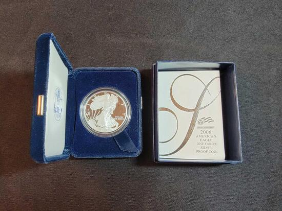 2006 American Eagle One Oz. Silver Proof Coin