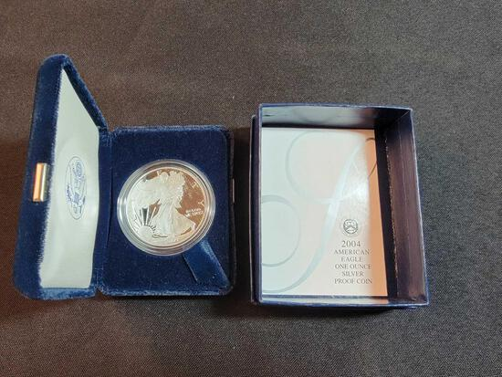 2004 American Eagle One Oz. Silver Proof Coin