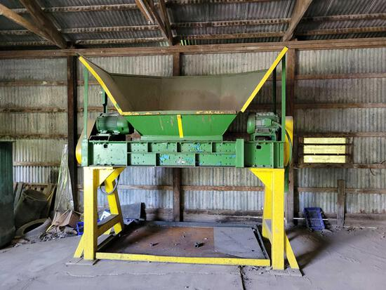 Franklin Miller Hammermill with dual motors