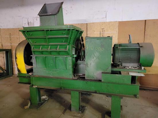 American Pulverizer International baler Hammermill, ser. #3355 mach #3800