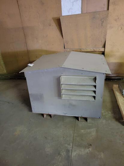 Lister DC power generator LPW3, 15kw baler with custom doghouse