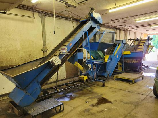 Mosley 3500 can densifier w/ can sorter #CC8/80052
