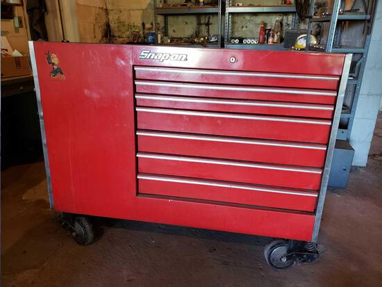 Snap-On toolbox on casters