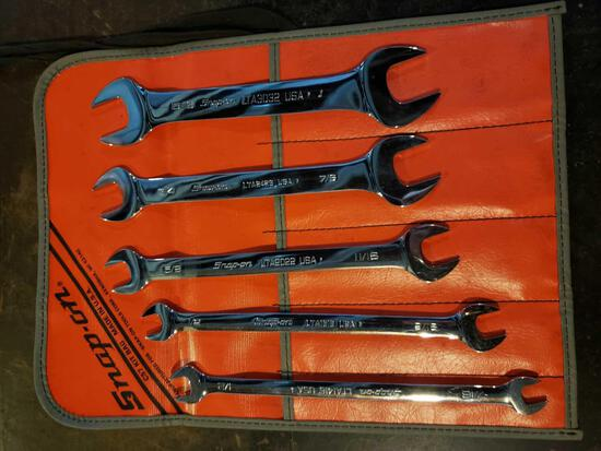Snap-On C57 (5) wrench kit 7/16 to 1 inch