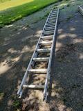28 ft. Werner adjustable aluminum ladder