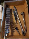 Craftsman socket sets, ratchet and breaker bar