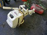 Sea King 5HP boat motor with fuel tank