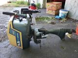 Clinton 5.5HP boat motor with fuel tank