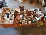 Large lot of assorted hardware and hand tools