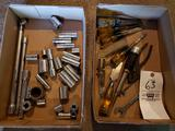 Sockets, extensions, chisels