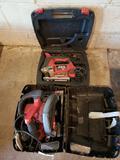 Skil jig saw and circular saw