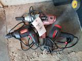 (3) corded drills