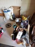Masonry tools, exhaust wrap, hardware