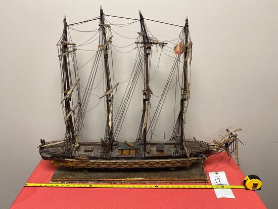 1920's Fragata Espanola sail ship made in Spain