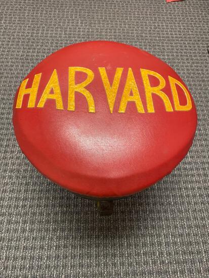 Harvard barrel stool on casters