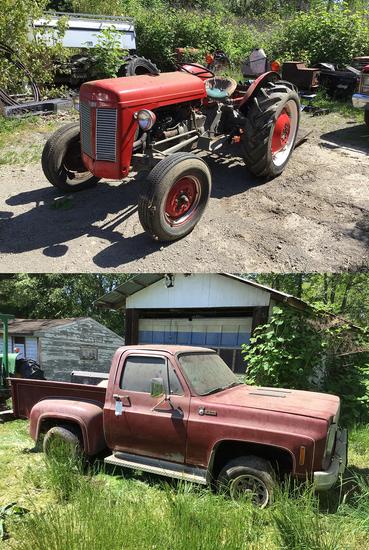 Tractors - Lanterns - Autos - 17563 - Randy