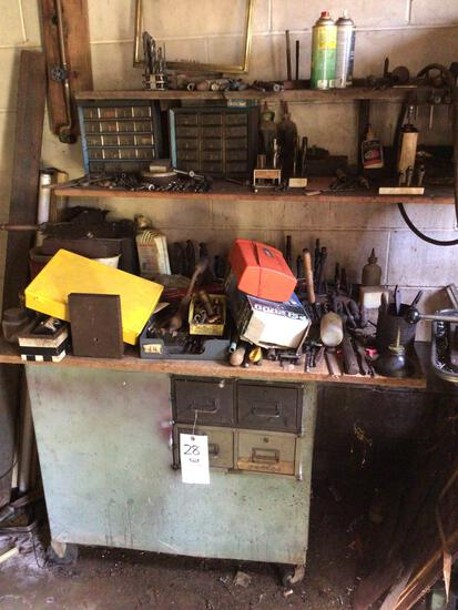 Drill bits and small stand