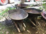 3 Wheelbarrows