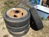 4 Truck Rims 7.5 x 16