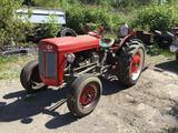 Ferguson TO-20 tractor. Gas engine - runs