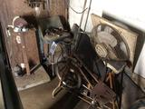 Small disc sander, bike and lathe parts