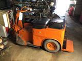 Cushman style electric cart.