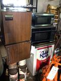 Mini fridges and microwaves