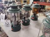 3 Coleman Lanterns