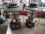 2 Coleman Lanterns