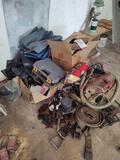 Vacuum, hand tools, Radio, Horns, Ratchet Straps, Caulk, Drill Bits