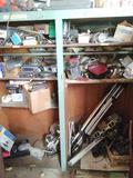 Contents of Cabinet incl. Lights, Radios, Car Parts