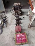 Miller High Life Sign, Chalwynn Light, Torches, Motor