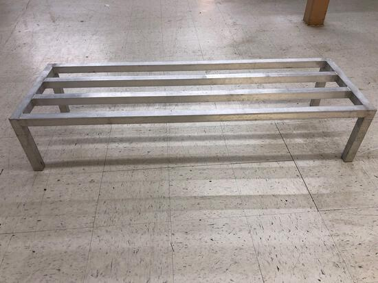 60in L x 20in W x 12in T Aluminum Dunnage Rack