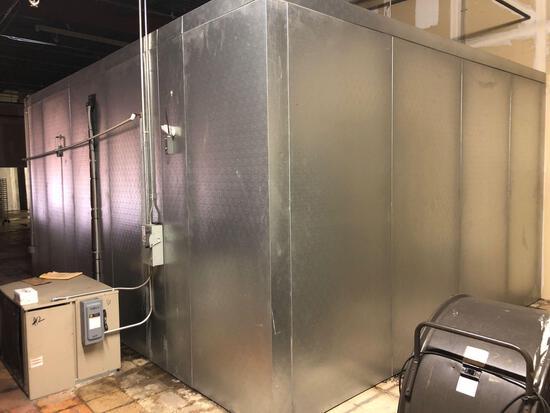 Carrol Coolers Walk In Freezer Unit 120v 1 Phase