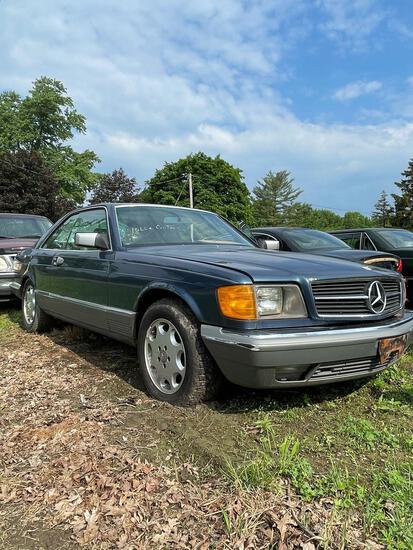 1983 Mercedes Benz 380 SEC, 38C, 2 Door, Auto, Runs, 148K