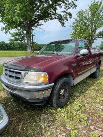 1997 Ford F-150 Pickup, Manual Trans, Short Bed, Runs, New Plugs/Cats, No power steering, 100K
