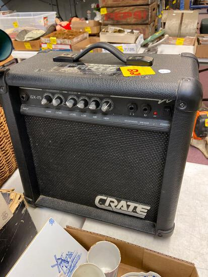 Crate Amplifier