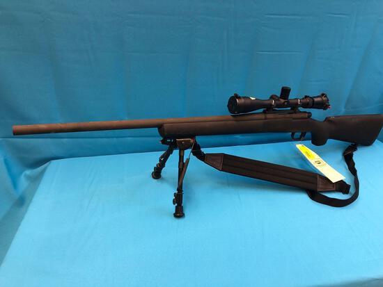 Remington model 700 308 rifle E6811233 with scope